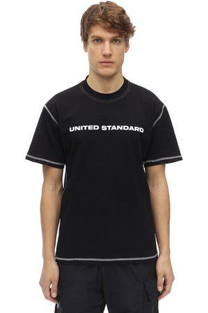 UNITED STANDARD Logo Cotton Jersey T-shirt