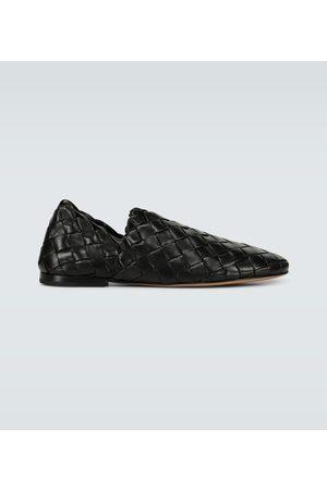 Bottega Veneta Intrecciato leather loafers