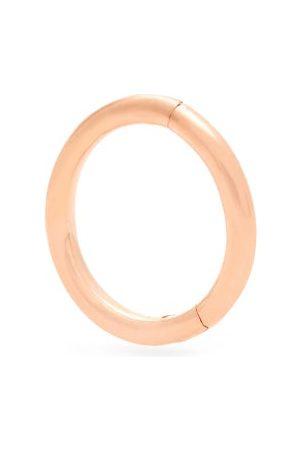 Maria Tash Plain 14kt Rose- Single Hoop Earring - Womens - Rose
