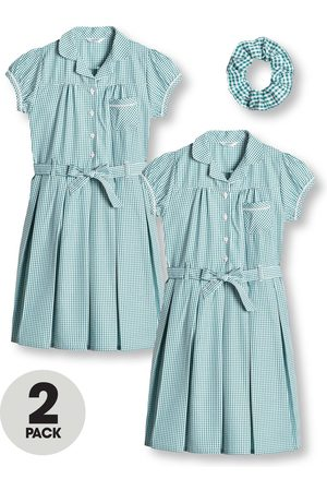 Very Girls 2 Pack Traditional Gingham School Dress