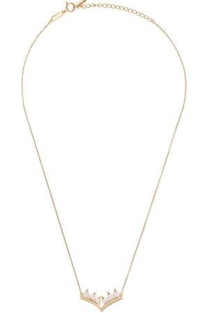 Tasaki 18kt yellow gold Collection Line Danger Akoya pearl necklace - Metallic
