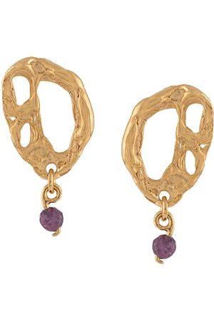 Lee Women Earrings - Opuntia stone-drop earrings