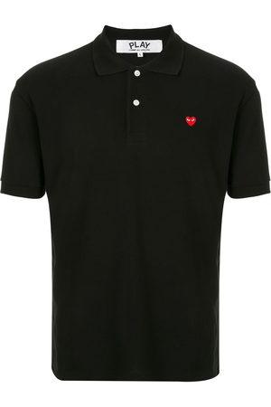 Comme des Garçons Branded short-sleeved polo shirt
