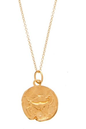 Alighieri Aries 24kt -plated Necklace - Mens
