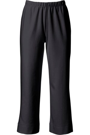 Green Cotton 7/8 slip-on trousers size: 12