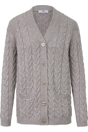 Peter Hahn Knitted jacket in 100% new milled wool size: 10