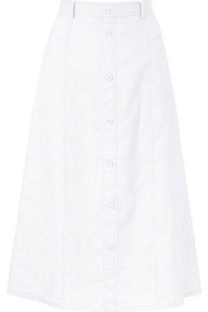 Peter Hahn Skirt in 100% linen size: 12s