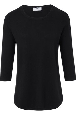 Peter Hahn Round neck jumper in silk and cashmere size: 10