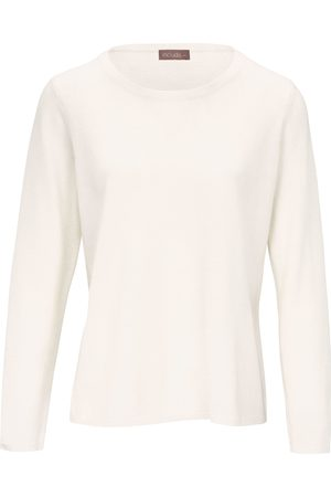 include Round neck jumper in pure new wool and cashmere size: 10