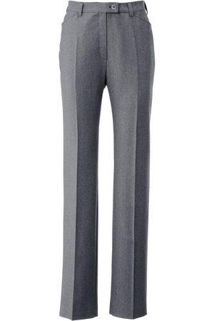 Brax Flannel trousers NANCY Pro Form Slim size: 16s