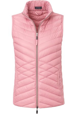 Mybc Quilted down waistcoat 2-way zip pale size: 10