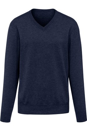 Peter Hahn V-neck jumper in Pure cashmere in premium quality size: 36