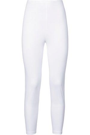 Green Cotton 7/8 leggings size: 12