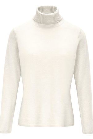 include Roll-neck jumper in pure new wool and cashmere size: 10