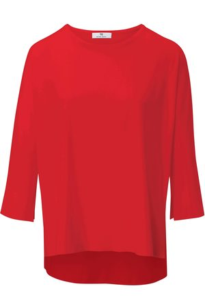 Peter Hahn Round neck top 3/4-length sleeves size: 10