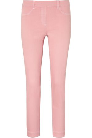 Peter Hahn Ankle-length pull-on jeans Sylvia fit pale size: 10s