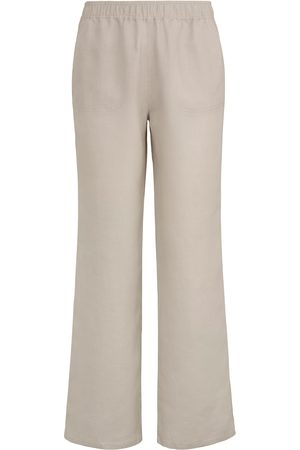 Peter Hahn Pull-on trousers Cornelia fit in 100% linen size: 10s