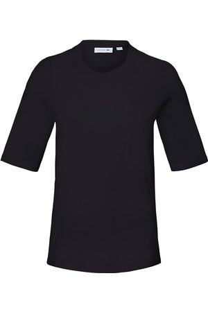Lacoste Round neck top longer 1/2-length sleeves size: 10
