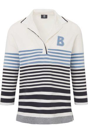 Bogner Polo shirt 3/4-length sleeves multicoloured size: 10