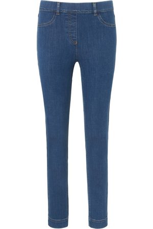 Peter Hahn Ankle-length pull-on jeans Sylvia fit denim size: 10s