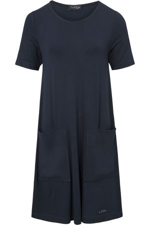 Looxent Women Casual Dresses - Short-sleeved jersey dress size: 12