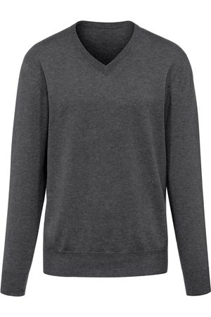 Peter Hahn V-neck jumper in Pure cashmere in premium quality size: 38