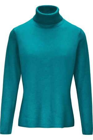 include Slightly tailored roll-neck jumper turquoise size: 10