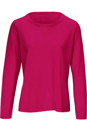 include Subtly tailored round neck jumper bright size: 10