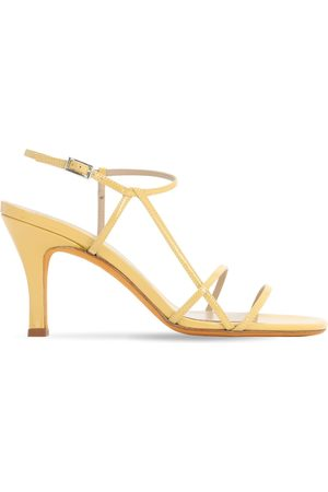 MARYAM NASSIR ZADEH 95mm Irene Patent Leather Sandals
