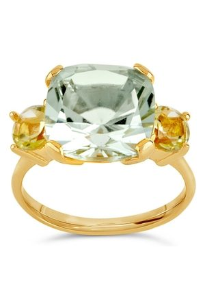 Dinny Hall Teresa Amethyst And Oro Verde Ring