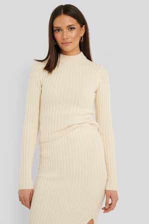 Rut & Circle Sabina Knit Top - White,Offwhite