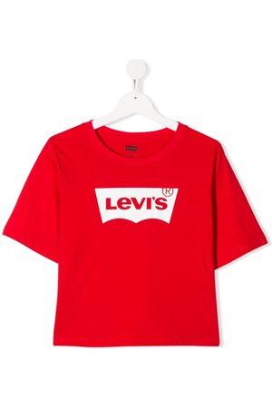 Levi's Kids TEEN logo-print crew neck T-shirt