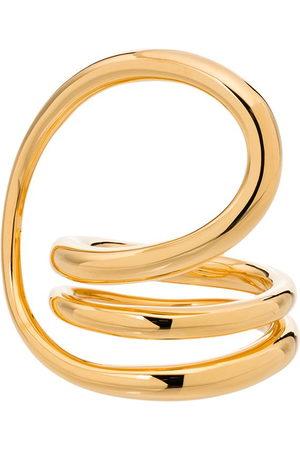 Charlotte Chesnais Women Rings - Round Trip gold vermeil ring - VERMEIL