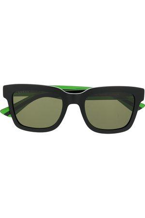 Gucci Men Sunglasses - Web detail square frame sunglasses