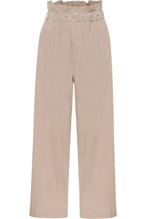 Low Classic Wide-leg paperbag pants