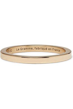 Le Gramme Le 5 Polished 18-karat Ring