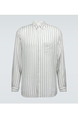Maison Margiela Striped regular-fit shirt