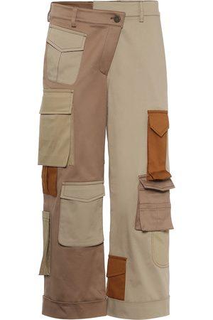 MONSE Deconstructed cotton pants