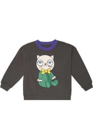 Mini Rodini Reversible stretch-cotton sweatshirt