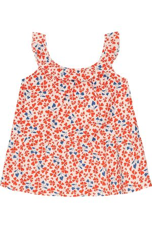 BONPOINT Ninili floral cotton-poplin top
