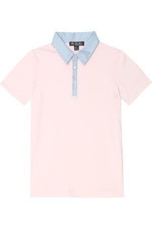 Loro Piana Stretch-cotton polo shirt