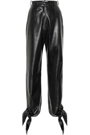 Matériel Tbilisi High-rise faux-leather pants