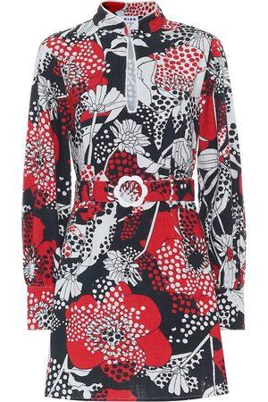 RIXO London Michelle floral cotton minidress