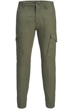Jack & Jones Paul Flake Linen Akm 982 Cargo Trousers