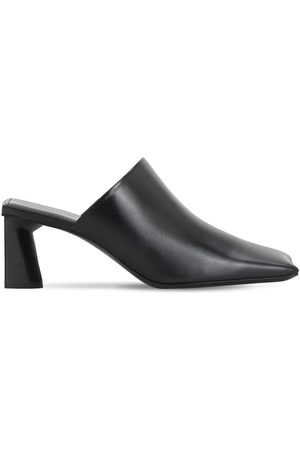 Balenciaga 90mm Moon Leather Sandals
