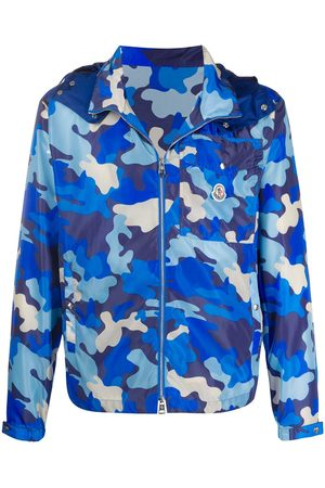 Moncler Men Jackets - Camouflage-print windbreaker jacket