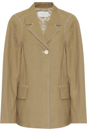 Low classic Cotton blazer