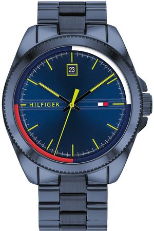 Tommy Hilfiger Riley Navy Stainless Steel Bracelet Blue Sunray Dial Watch