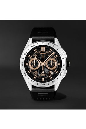 Tag Heuer Connected Modular 45mm Steel and Rubber Smart Watch, Ref. No. SBG8A12.BT6219