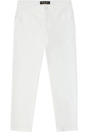 Loro Piana Stretch-cotton gabardine pants
